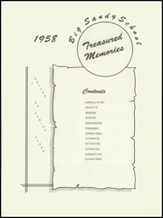 Page 5, 1958 Edition, Big Sandy High School - Treasured Memories Yearbook (Big Sandy, TN) online yearbook collection