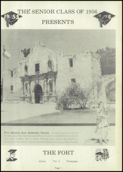 Page 5, 1956 Edition, Alamo High School - Fort Yearbook (Alamo, TN) online yearbook collection
