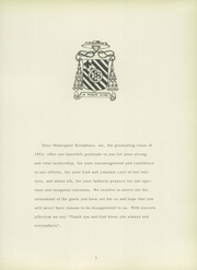 Page 11, 1953 Edition, Sacred Heart School - Crest Yearbook (Memphis, TN) online yearbook collection