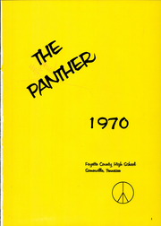 Page 5, 1970 Edition, Fayette County High School - Panther Yearbook (Somerville, TN) online yearbook collection