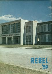 1959 Edition, McMinnville City High School - Rebel Yearbook (McMinnville, TN)
