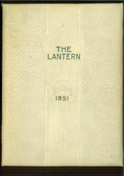 1951 Edition, Hutchison High School - Lantern Yearbook (Memphis, TN)