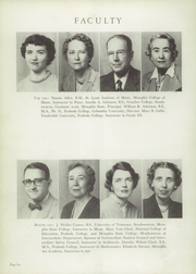 Page 10, 1952 Edition, Hutchison High School - Lantern Yearbook (Memphis, TN) online yearbook collection