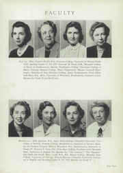 Page 11, 1952 Edition, Hutchison High School - Lantern Yearbook (Memphis, TN) online yearbook collection