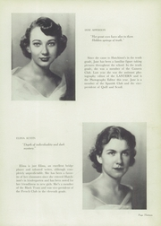 Page 17, 1952 Edition, Hutchison High School - Lantern Yearbook (Memphis, TN) online yearbook collection