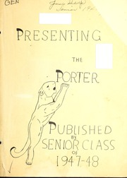 Page 7, 1948 Edition, Porter High School - Panther Yearbook (Maryville, TN) online yearbook collection