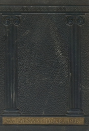 Lausanne Collegiate School - Lausanne Locket Yearbook (Memphis, TN) online yearbook collection, 1938 Edition, Page 1