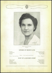 Page 10, 1944 Edition, Lausanne Collegiate School - Lausanne Locket Yearbook (Memphis, TN) online yearbook collection