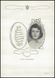 Page 11, 1950 Edition, Lausanne Collegiate School - Lausanne Locket Yearbook (Memphis, TN) online yearbook collection