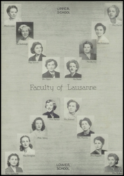 Page 8, 1950 Edition, Lausanne Collegiate School - Lausanne Locket Yearbook (Memphis, TN) online yearbook collection