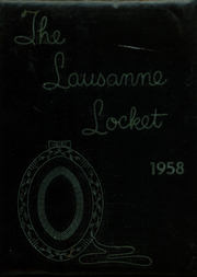 Lausanne Collegiate School - Lausanne Locket Yearbook (Memphis, TN) online yearbook collection, 1958 Edition, Page 1