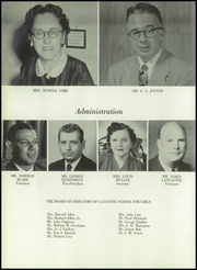 Page 12, 1959 Edition, Lausanne Collegiate School - Lausanne Locket Yearbook (Memphis, TN) online yearbook collection