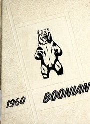 1960 Edition, Boones Creek High School - Boonian Yearbook (Johnson City, TN)