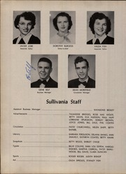 Page 14, 1952 Edition, Sullivan High School - Sullivania Yearbook (Kingsport, TN) online yearbook collection