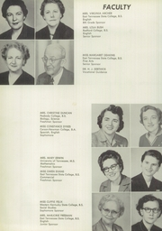 Page 12, 1957 Edition, Sullivan High School - Sullivania Yearbook (Kingsport, TN) online yearbook collection