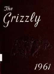 Page 1, 1961 Edition, Bluff City High School - Grizzly Yearbook (Bluff City, TN) online yearbook collection