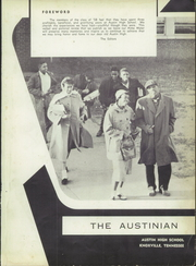 Page 5, 1958 Edition, Austin High School - Austinian Yearbook (Knoxville, TN) online yearbook collection