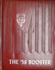 1958 Edition, Hampshire High School - Booster Yearbook (Hampshire, TN)