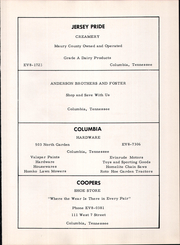 Page 63, 1959 Edition, Hampshire High School - Booster Yearbook (Hampshire, TN) online yearbook collection