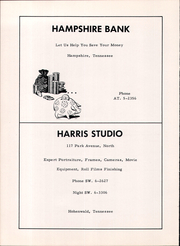 Page 66, 1959 Edition, Hampshire High School - Booster Yearbook (Hampshire, TN) online yearbook collection