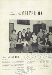 Page 5, 1949 Edition, Holston Valley High School - Criterion Yearbook (Bristol, TN) online yearbook collection