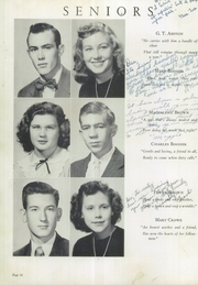 Page 16, 1950 Edition, Holston Valley High School - Criterion Yearbook (Bristol, TN) online yearbook collection