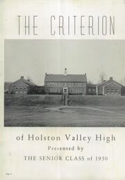 Page 6, 1950 Edition, Holston Valley High School - Criterion Yearbook (Bristol, TN) online yearbook collection