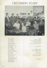Page 8, 1950 Edition, Holston Valley High School - Criterion Yearbook (Bristol, TN) online yearbook collection