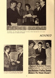 Page 12, 1968 Edition, Holston Valley High School - Criterion Yearbook (Bristol, TN) online yearbook collection