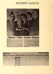 Page 8, 1968 Edition, Holston Valley High School - Criterion Yearbook (Bristol, TN) online yearbook collection