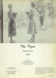 Page 5, 1955 Edition, Charlotte High School - Tiger Yearbook (Charlotte, TN) online yearbook collection