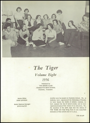 Page 5, 1956 Edition, Charlotte High School - Tiger Yearbook (Charlotte, TN) online yearbook collection