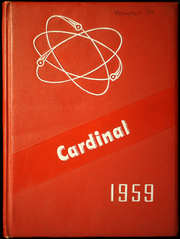 1959 Edition, Fall Branch High School - Cardinal Yearbook (Fall Branch, TN)