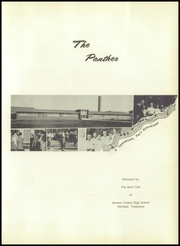 Page 7, 1957 Edition, Sumner County High School - Panther Yearbook (Portland, TN) online yearbook collection