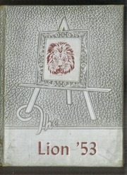 1953 Edition, Mary Hughes High School - Lion Yearbook (Piney Flats, TN)