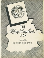 Page 5, 1953 Edition, Mary Hughes High School - Lion Yearbook (Piney Flats, TN) online yearbook collection