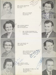 Page 13, 1955 Edition, Mary Hughes High School - Lion Yearbook (Piney Flats, TN) online yearbook collection