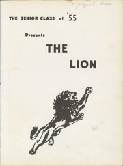 Page 5, 1955 Edition, Mary Hughes High School - Lion Yearbook (Piney Flats, TN) online yearbook collection
