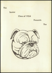 Page 5, 1954 Edition, Petersburg High School - Bulldog Yearbook (Petersburg, TN) online yearbook collection