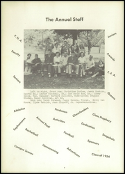 Page 8, 1954 Edition, Petersburg High School - Bulldog Yearbook (Petersburg, TN) online yearbook collection