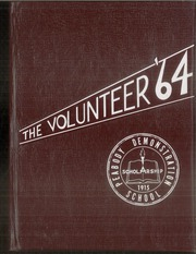 1964 Edition, Peabody Demonstration School - Volunteer Yearbook (Nashville, TN)