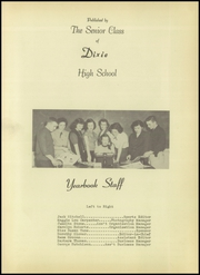 Page 5, 1951 Edition, Dixie High School - Rebel Yearbook (Union City, TN) online yearbook collection