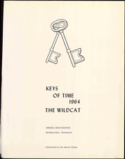 Page 7, 1964 Edition, Dibrell High School - Wildcat Yearbook (McMinnville, TN) online yearbook collection