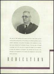 Page 16, 1947 Edition, Sewanee Military Academy - Saber Yearbook (Sewanee, TN) online yearbook collection