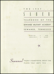 Page 5, 1947 Edition, Sewanee Military Academy - Saber Yearbook (Sewanee, TN) online yearbook collection