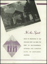 Page 6, 1947 Edition, Sewanee Military Academy - Saber Yearbook (Sewanee, TN) online yearbook collection