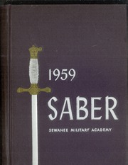 1959 Edition, Sewanee Military Academy - Saber Yearbook (Sewanee, TN)