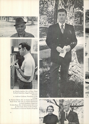 Page 14, 1971 Edition, Tusculum College - Tusculana Yearbook (Greenville, TN) online yearbook collection