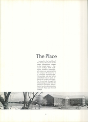 Page 14, 1973 Edition, Tusculum College - Tusculana Yearbook (Greenville, TN) online yearbook collection