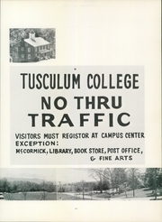 Page 15, 1973 Edition, Tusculum College - Tusculana Yearbook (Greenville, TN) online yearbook collection